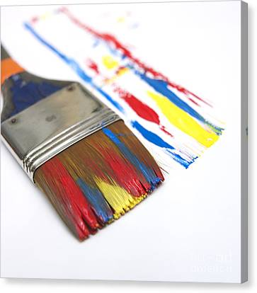 Paintbrush Canvas Print by Bernard Jaubert