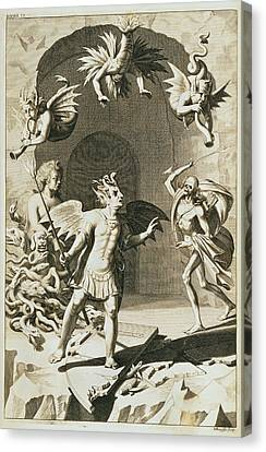 Paradise Lost Canvas Print by British Library