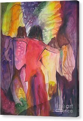 Passage Canvas Print by Diana Bursztein