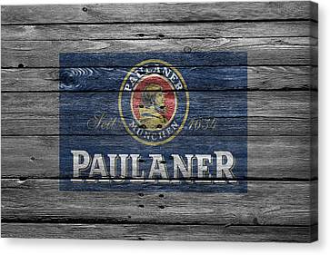 Paulaner Canvas Print by Joe Hamilton