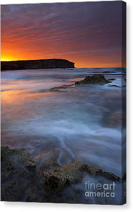 Pennington Dawn Canvas Print by Mike  Dawson