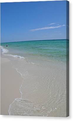 Pensacola Beach Canvas Print by Vonda Barnett