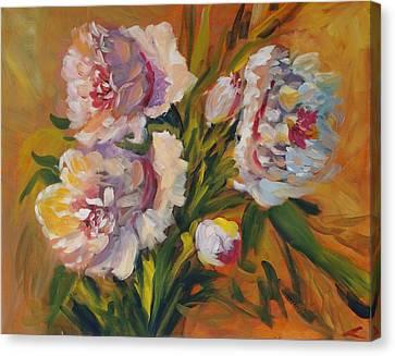 Peons Canvas Print by Elena Sokolova