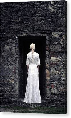 Gown Canvas Print - Period Lady by Joana Kruse