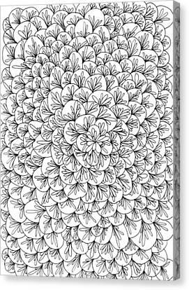 Petals Canvas Print by Yvette Pichette