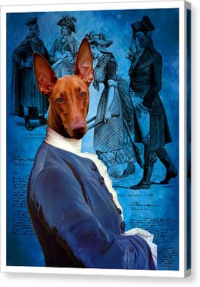 Pharaoh Hound Art Canvas Print Canvas Print by Sandra Sij