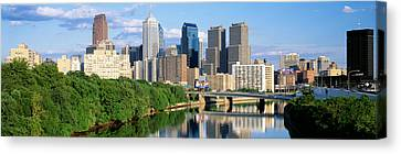 Philadelphia, Pennsylvania, Usa Canvas Print