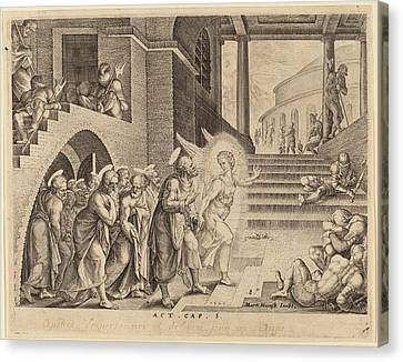 Philip Galle After Maerten Van Heemskerck Flemish Canvas Print by Quint Lox