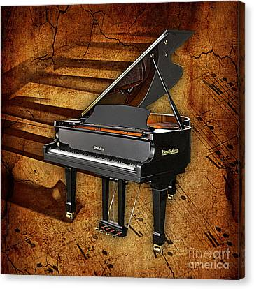 Piano Collection. Canvas Print by Marvin Blaine