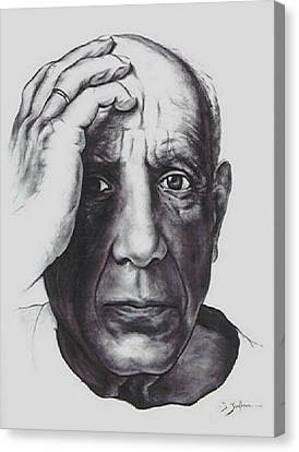 Picasso Canvas Print by Guillaume Bruno