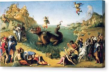 Piero Di Cosimo, Pietro Di Lorenzo Canvas Print by Everett