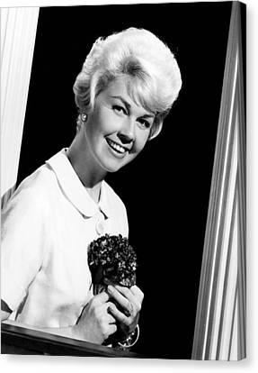 1950s Movies Canvas Print - Pillow Talk, Doris Day, 1959 by Everett