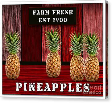 Pineapple Farm Canvas Print