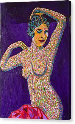 Pisces Woman Canvas Print by Gerhardt Isringhaus