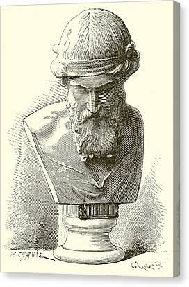 Plato  Canvas Print