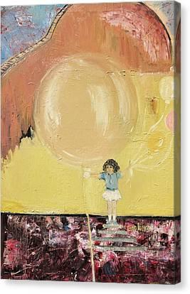 Playground Canvas Print by Evelina Popilian