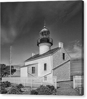 Point Loma Lighthouse Canvas Print by Hugh Smith