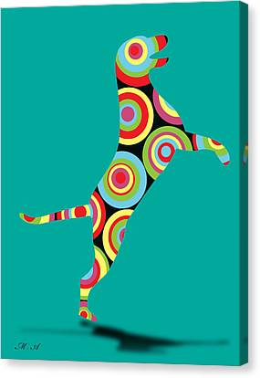 Animal Lover Canvas Print - Pointer by Mark Ashkenazi