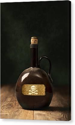 Poison Bottle Canvas Print by Amanda Elwell