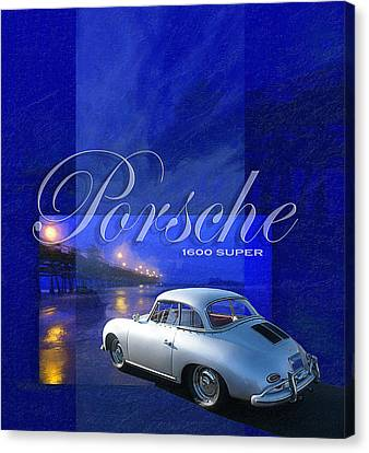 Porsche 1600 Super Canvas Print by Ron Regalado