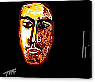 Portrait-5 Canvas Print by Anand Swaroop Manchiraju