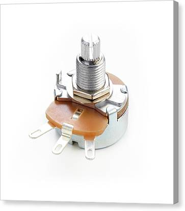 Potentiometer Canvas Print