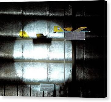 Power-beam Aircraft Research Canvas Print by Nasa/tom Tschida