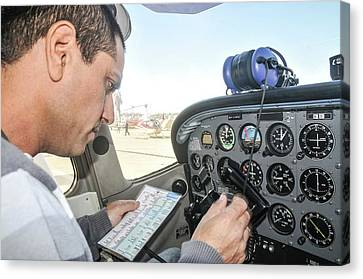 Preflight Check Canvas Print