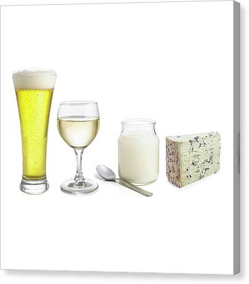 Products Of Fermentation Canvas Print