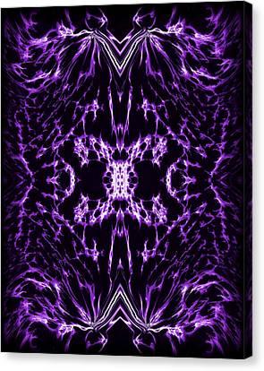 Purple Series 2 Canvas Print by J D Owen