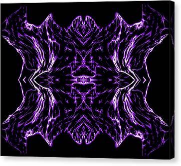 Purple Series 7 Canvas Print by J D Owen