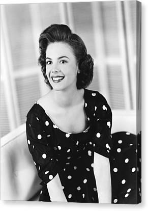 Rebel Without A Cause, Natalie Wood Canvas Print by Everett