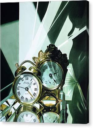 Reflections Canvas Print by Denny Bond