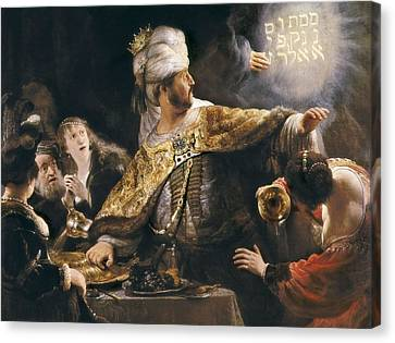 Rembrandt, Harmenszoon Van Rijn, Called Canvas Print by Everett