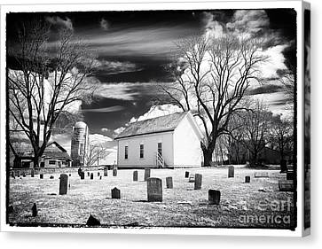 Resting Place Canvas Print by John Rizzuto