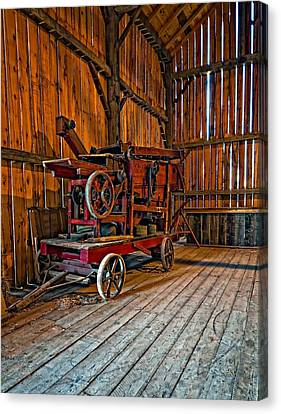 Pioneer Museum Canvas Print - Retirement by Steve Harrington