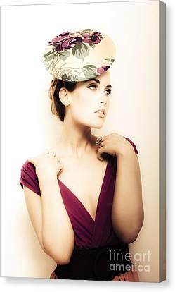 Retro Fashion Canvas Print by Jorgo Photography - Wall Art Gallery