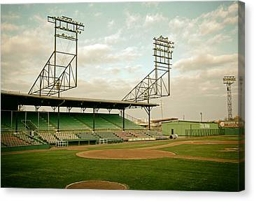 Rickwood Field Birmingham Alabama Canvas Print by Mountain Dreams