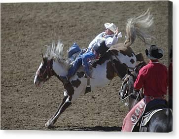 Ride Em Cowboy Canvas Print by Jeff Swan