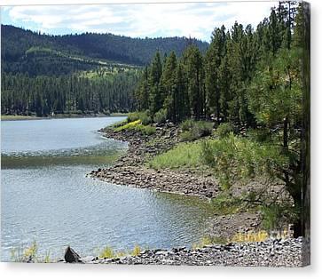 River Reservoir Canvas Print