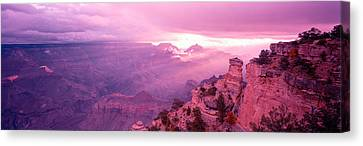 Rock Formations In A National Park Canvas Print
