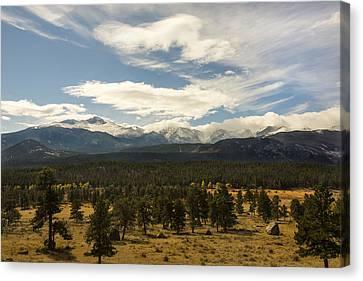 Rocky Mountain National Park - Estes Park Colorado Canvas Print by Brian Harig