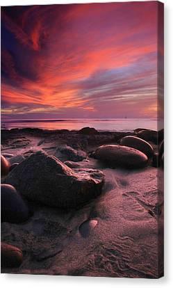 Rocky Sunset Canvas Print
