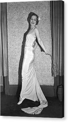 Romanian Princess Irene Bogdan Canvas Print by Underwood Archives