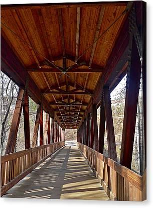 Roswell Bridge Canvas Print