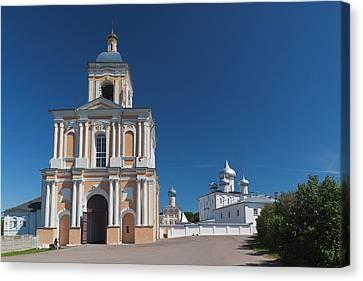 Russia, Novgorod Oblast, Veliky Canvas Print