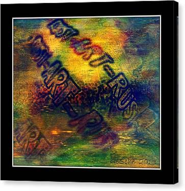 Rust-art 04 Canvas Print by Gertrude Scheffler