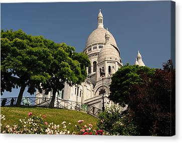 Sacre Coeur Canvas Print by Jeremy Voisey