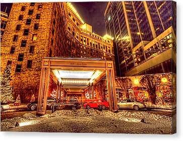 Saint Paul Hotel Canvas Print