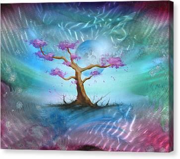 Sakura Canvas Print by Luis  Navarro